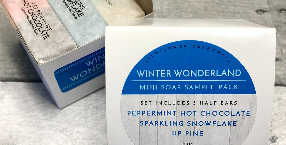 Winter Wonderland Mini Soap Sample Pack