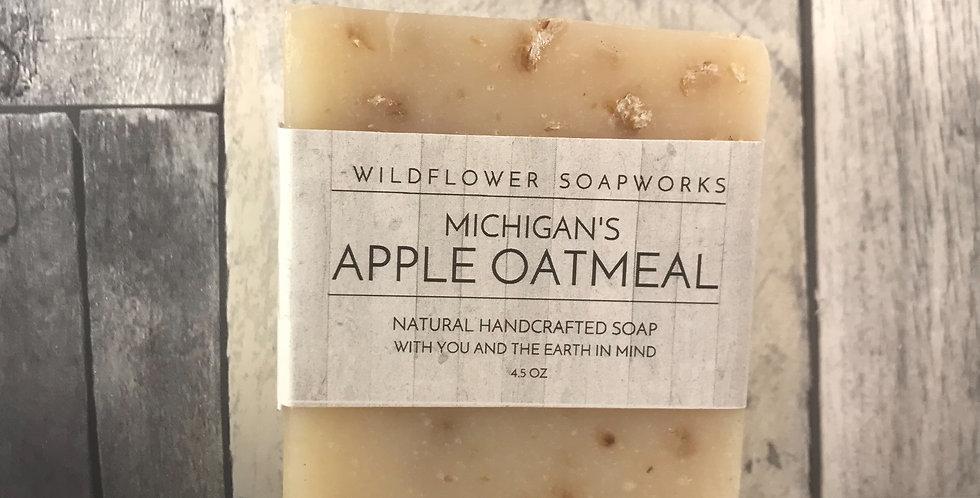 Apple Oatmeal Soap Bar