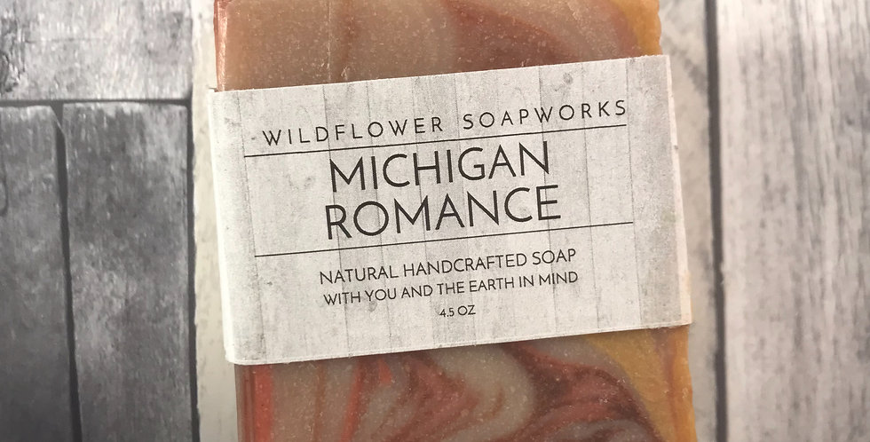 Michigan Romance Soap Bar