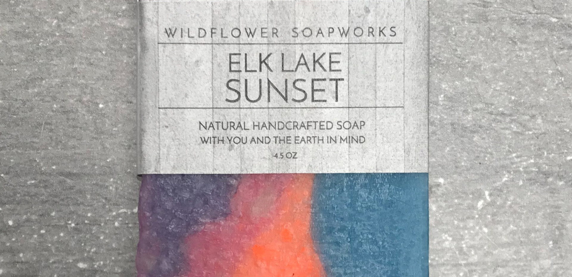 Take home with you, with our Elk Lake Sunset!
