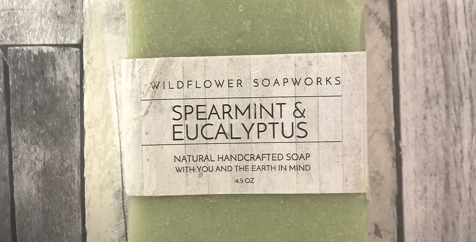 Spearmint Eucalyptus Soap Bar
