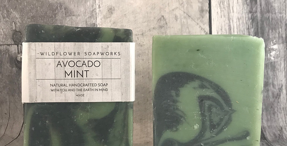 Avocado Mint Soap Bar