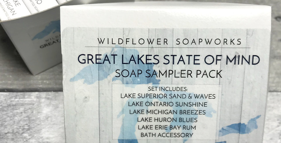 Great Lakes State of Mind Soap Sample Pack