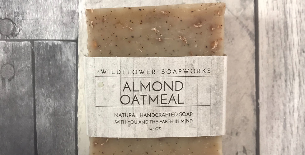 Almond Oatmeal Soap Bar