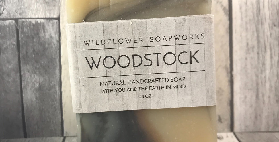 Woodstock Soap Bar