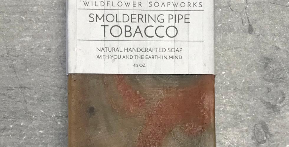 Smoldering Pipe Tobacco