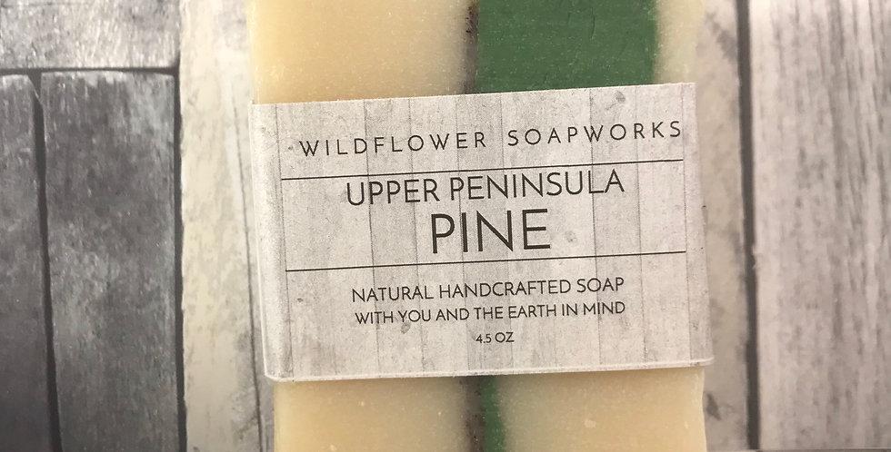 Upper Peninsula Pine Soap Bar