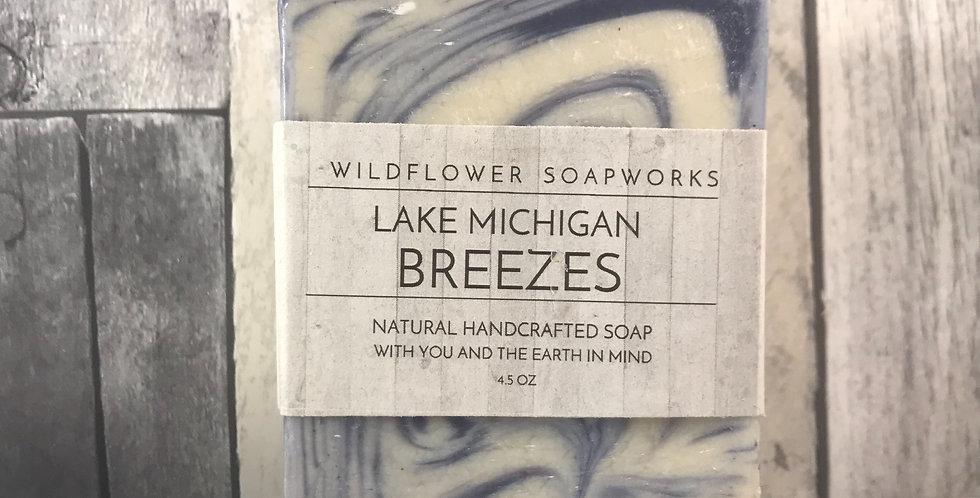 Lake Michigan Breezes Soap Bar