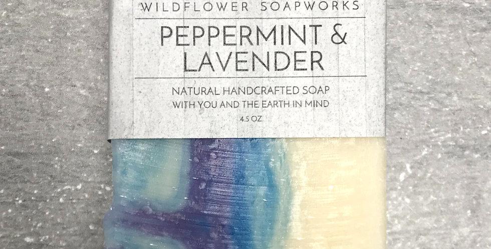 Peppermint & Lavender Soap Bar