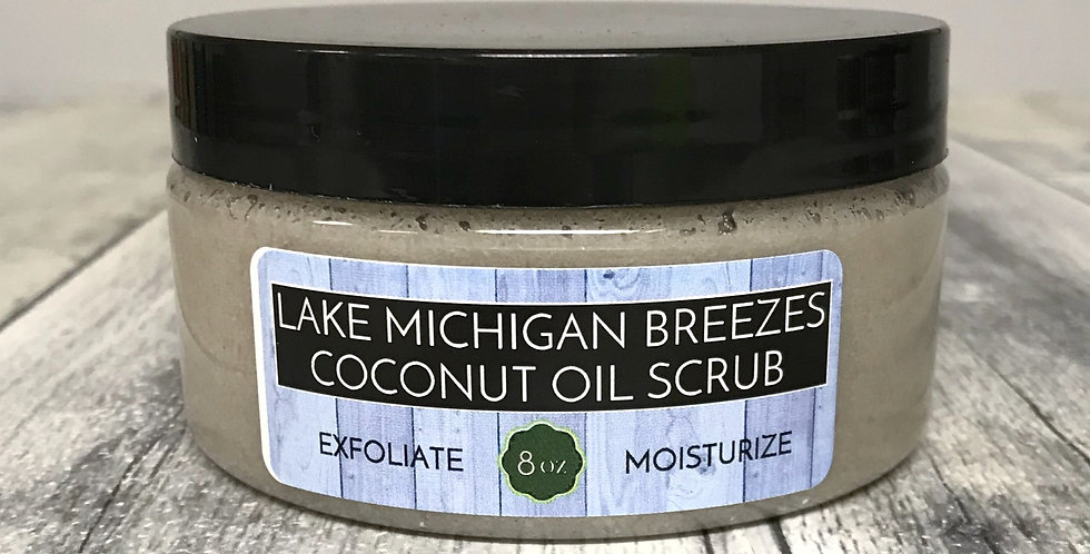 Coconut Oil Scrub - Lake Michigan Breezes