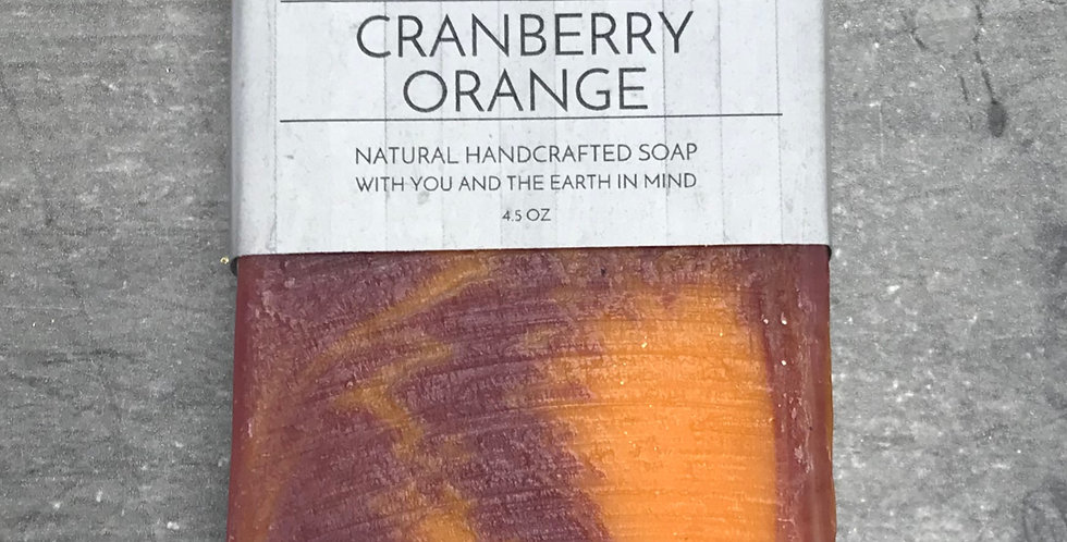 Cranberry Orange Soap Bar