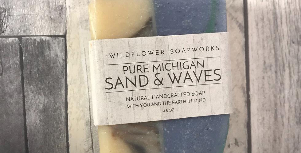 Pure Michigan Sand & Waves - Soap Bar