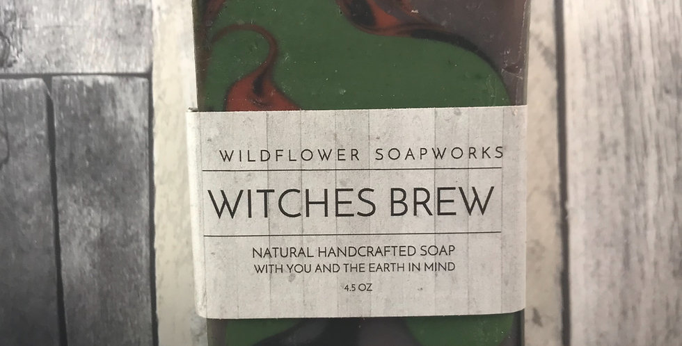 Witches Brew Soap Bar