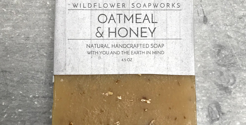 Oatmeal & Honey Soap Bar