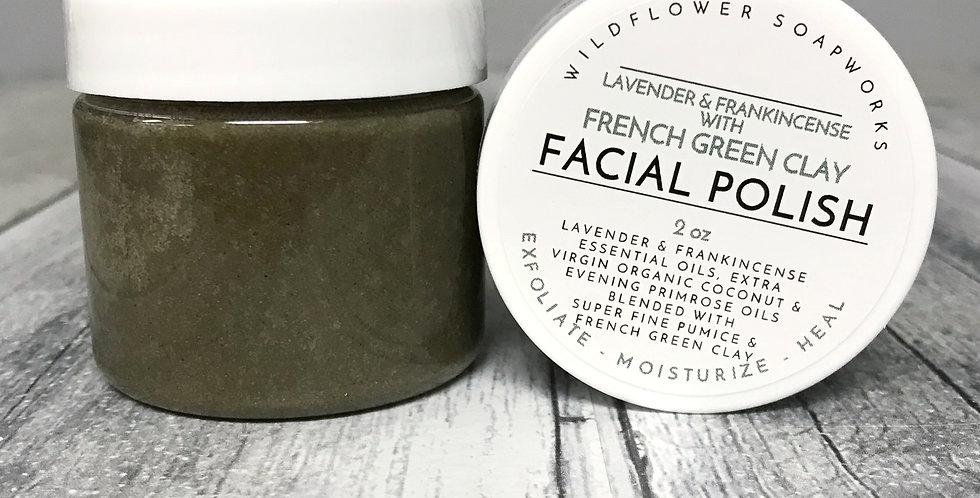 French Green Clay Facial Polish