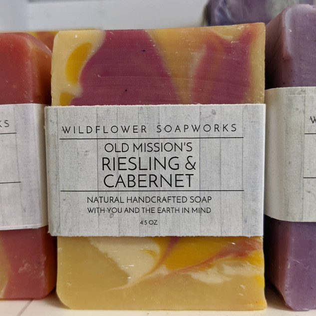 Riesling & Cabernet Soap