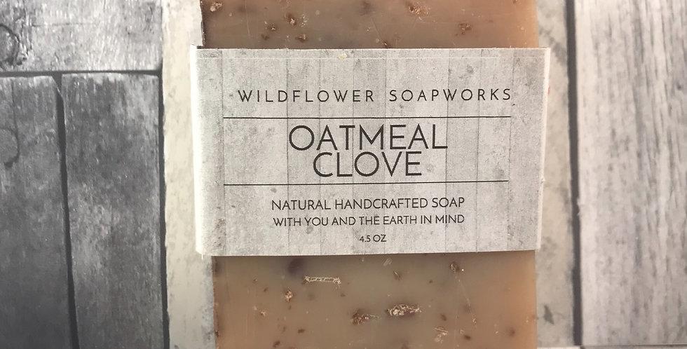 Oatmeal Clove Soap Bar