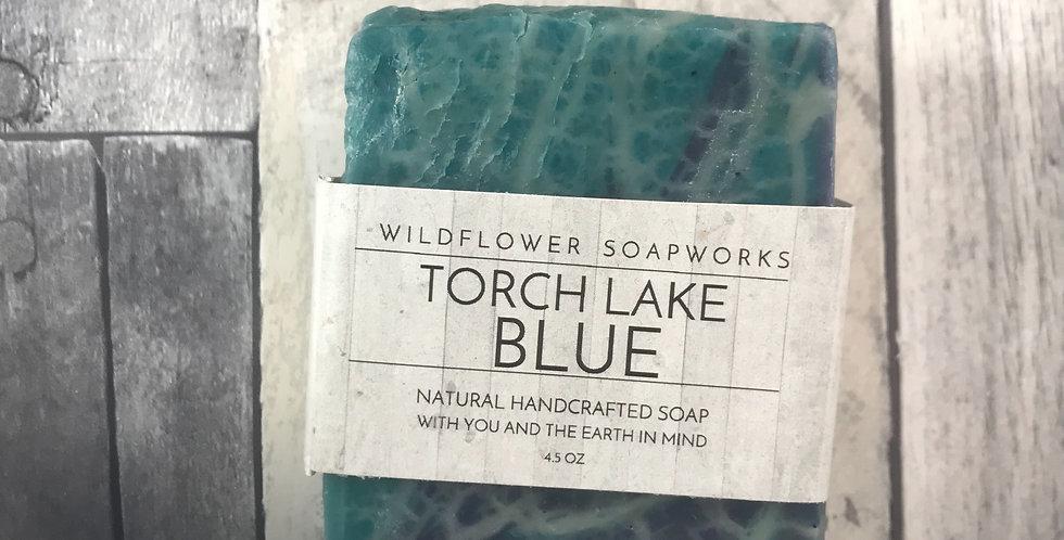 Torch Lake Blue Soap Bar