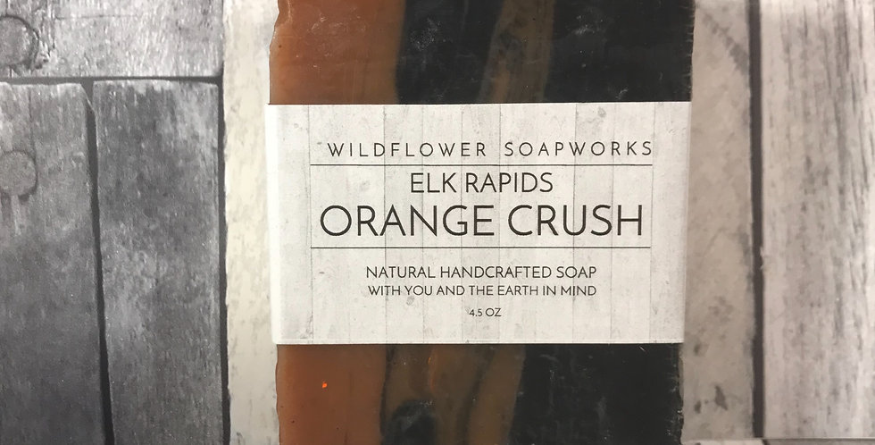 Orange Crush Soap Bar