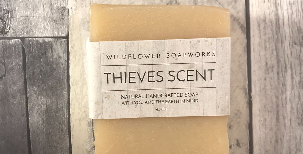 Thieves 5 Oil Blend - Soap Bar