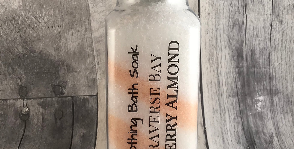 Traverse Bay Cherry Almond Bath Soak