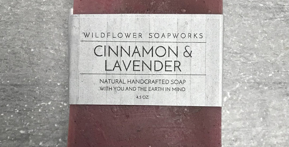Cinnamon & Lavender Soap Bar