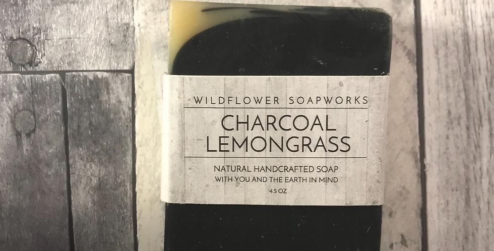 Lemongrass Charcoal Soap Bar