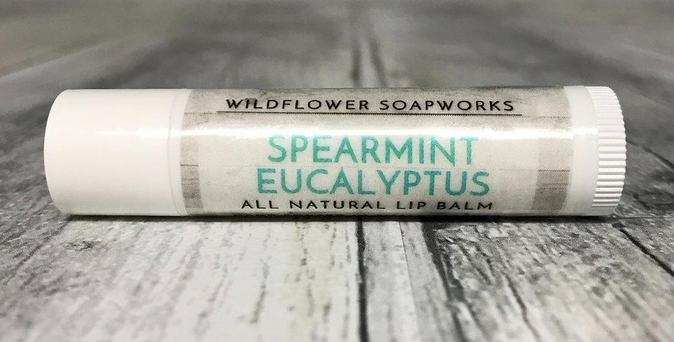 Spearmint Eucalyptus Lip Balm