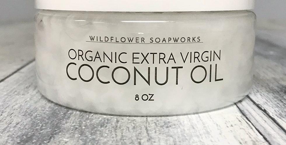 Organic Extra Virgin Coconut Oil (Medium 8oz)