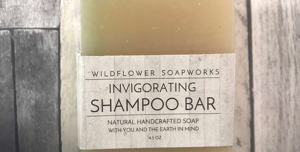 Invigorating Shampoo Bar