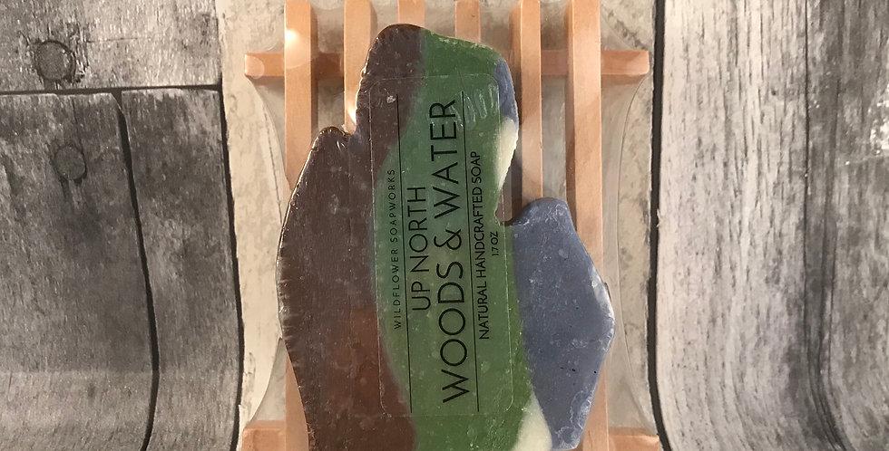 Up North Woods & Water - Michigan Soap Set