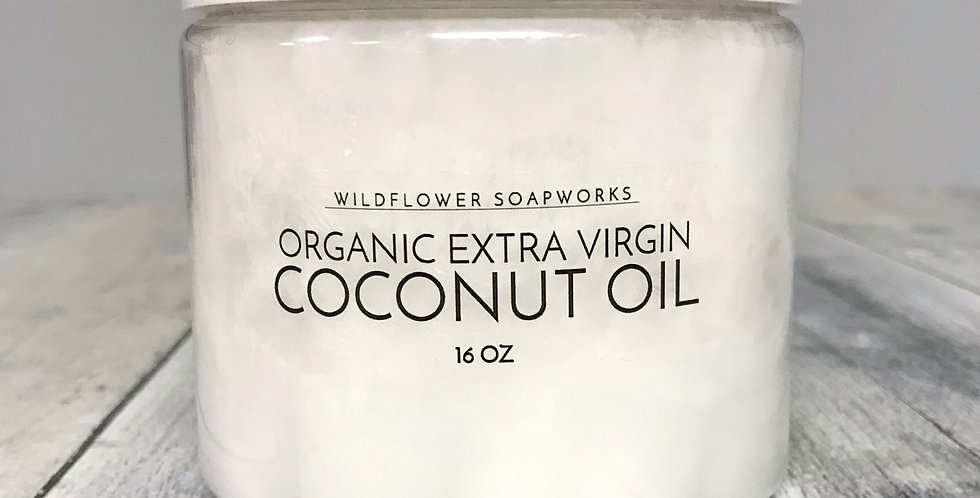 Organic Extra Virgin Coconut Oil (Large 16oz)