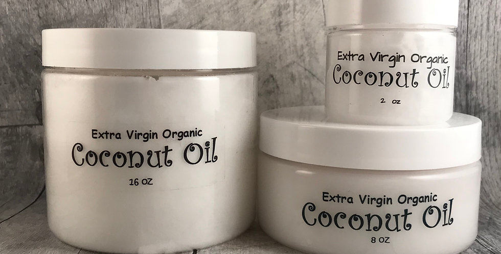 Organic Extra Virgin Coconut Oil (Medium 8oz)