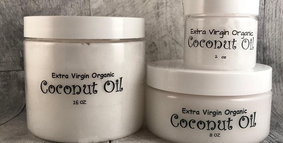 Organic Extra Virgin Coconut Oil (Small 2oz)