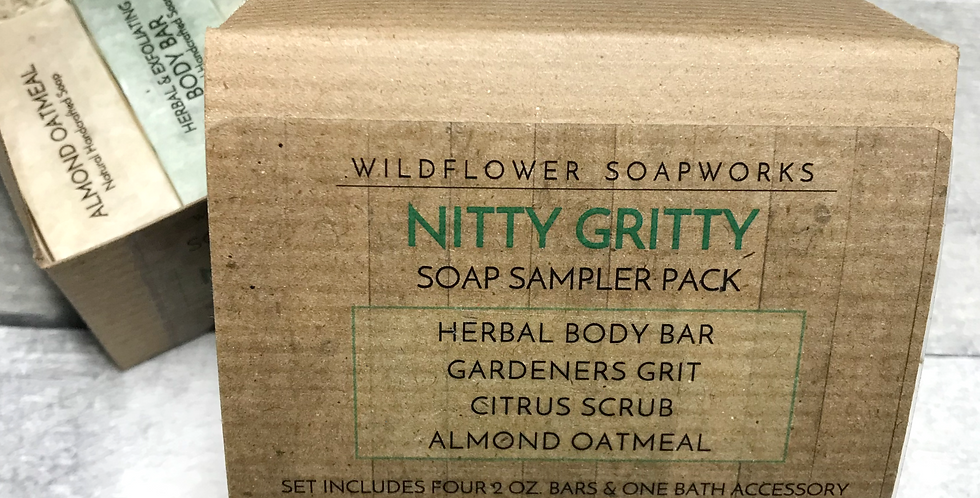Nitty Gritty Soap Sample Pack