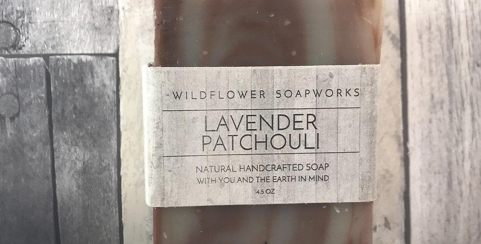 Patchouli Lavender Soap Bar