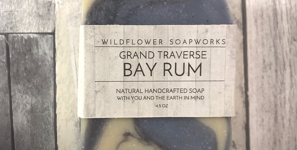 Grand Traverse Bay Rum - Soap Bar