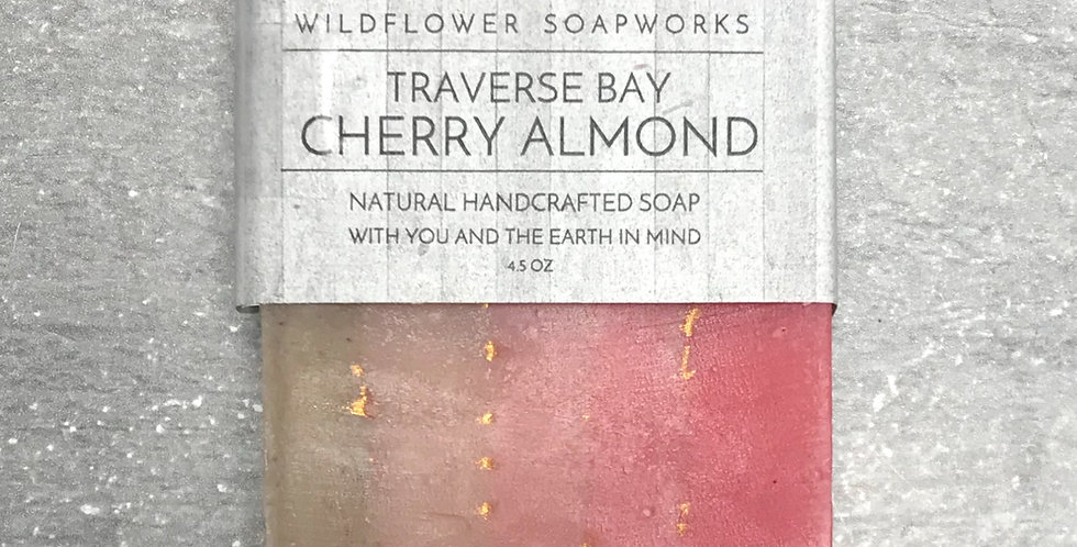 Traverse Bay Cherry Almond Soap Bar