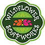 clear background logo wildflower soapwor