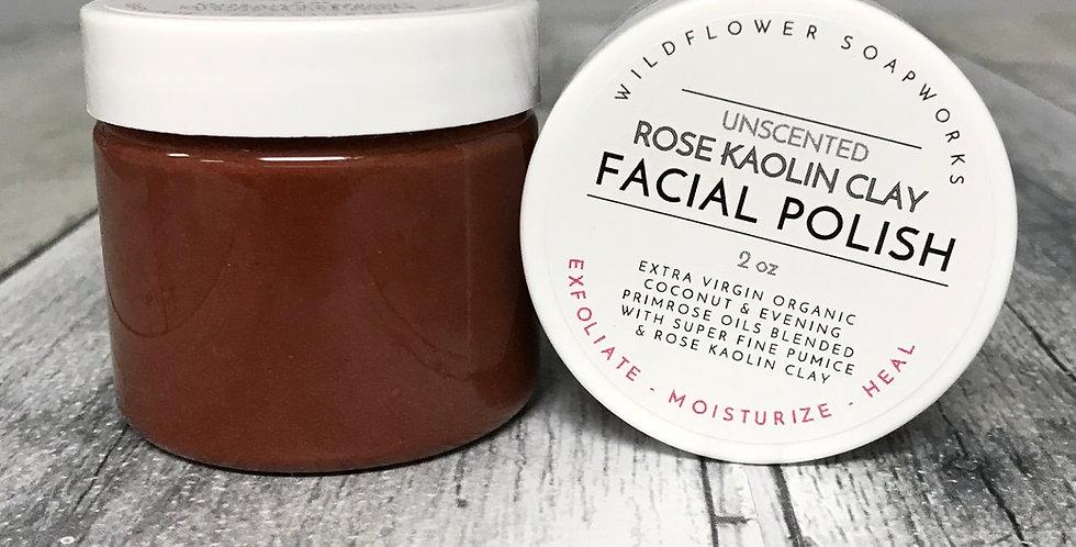 Rose Kaolin Clay Facial Polish