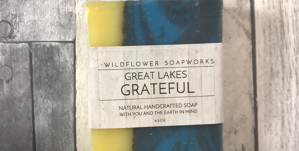 Great Lakes Grateful Soap Bar