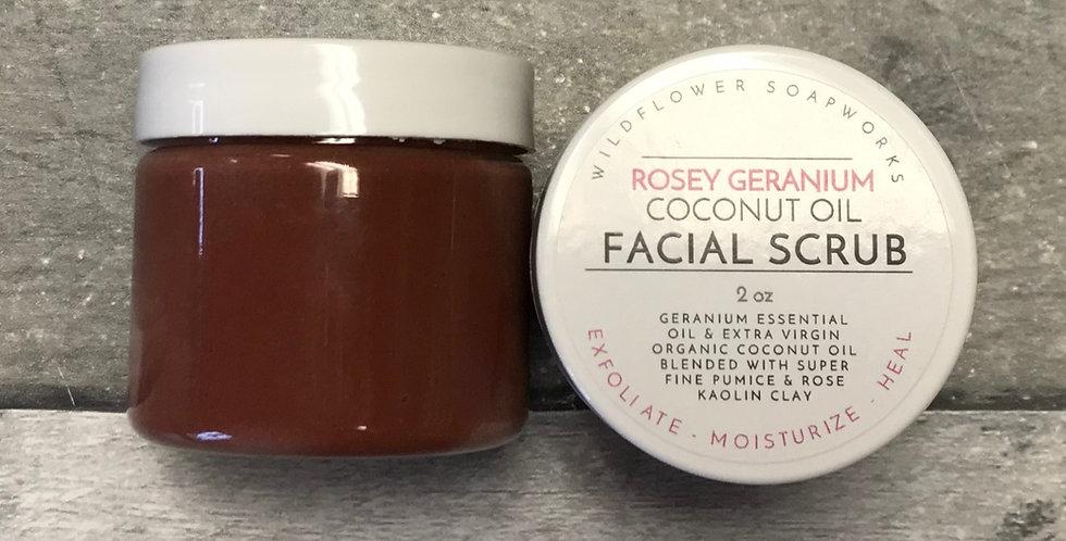 Rosey Geranium Facial Polish