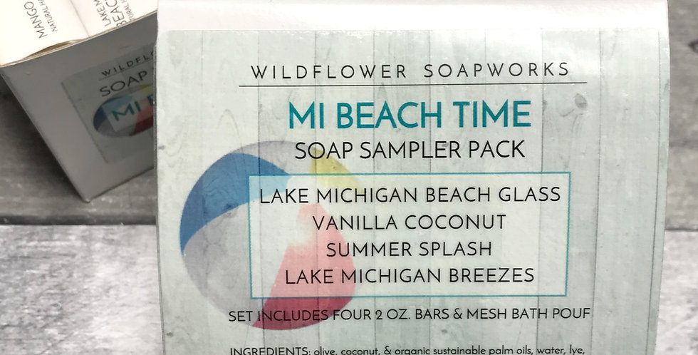 MI Beach Time Soap Sample Pack