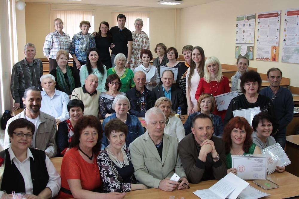 Фото из архива библиотеки посёлка Новая Пристань