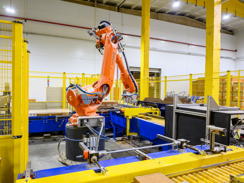 Роботы «видят», сортируют, маркируют и пакуют