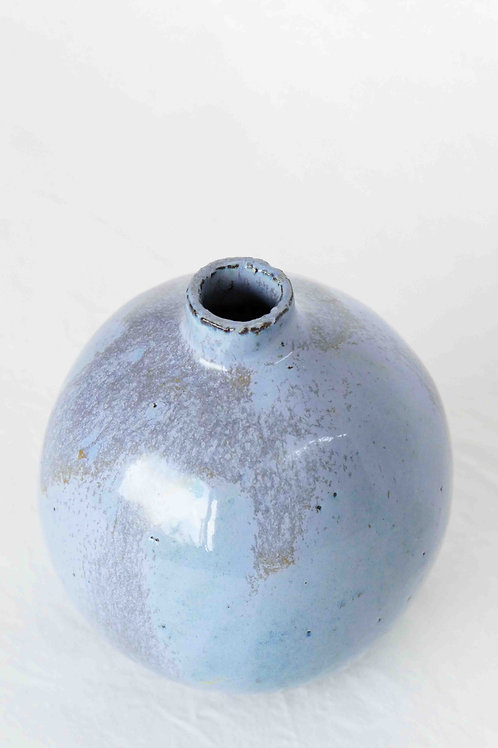 Vase hellblau