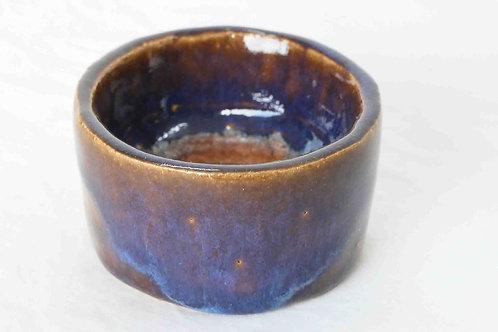 Teelichthalter blau