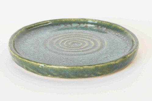 Untersetzer grünblau