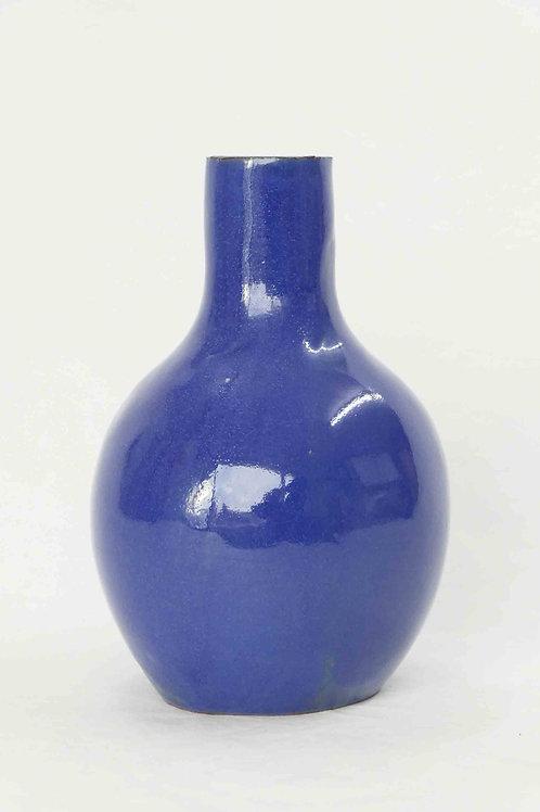 Vase tiefblau