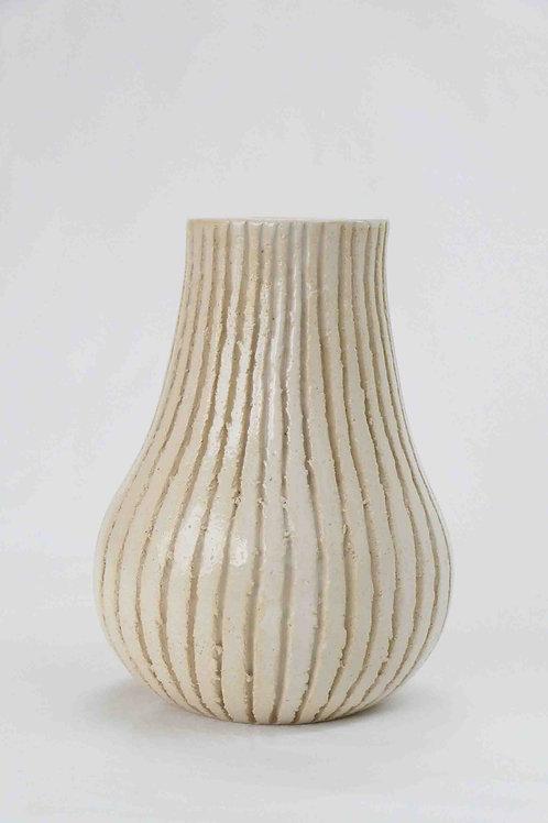 Vase weiss